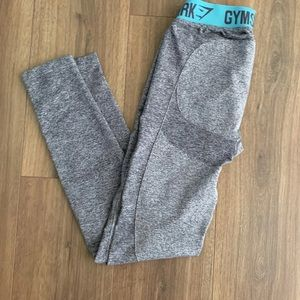 Grey gymshark flex leggings